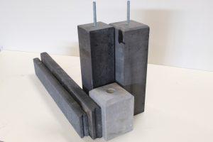 Beton/hardsteen/poeren/banden