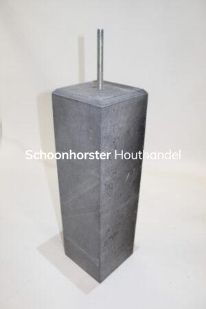 Betonpoer facet 150x150mm