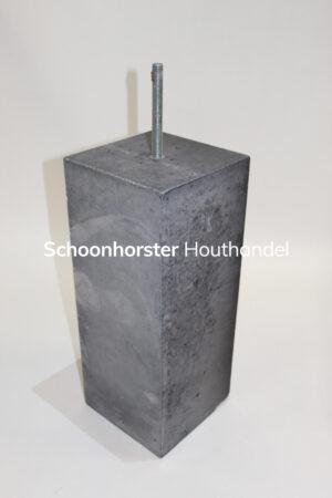Betonpoer strak 200x200mm