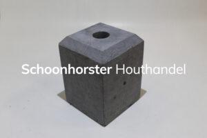 Hardsteenpoer facet 150x150mm