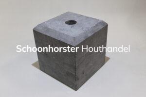 Hardsteenpoer facet 200x200mm