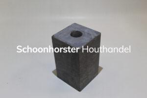 Hardsteenpoer strak 150x150mm