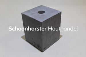 Hardsteenpoer strak 200x200mm