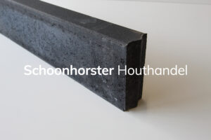 Opsluitband beton antraciet 80x200
