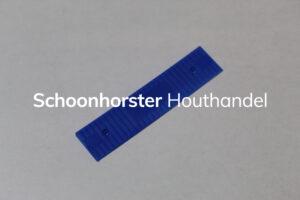 Beglazingsblokje blauw 5/1 mm