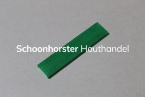 Beglazingsblokje groen 5mm