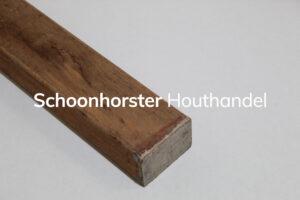 Hardhouten onderregels 45x70mm
